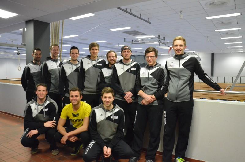 Teamfoto Herren Saison 2016-2017