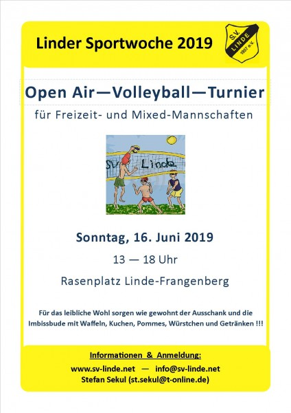 Volleyballturnier_2019