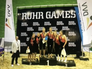 Siegereherung DM U20 bei den Ruhrgames (Foto: privat)